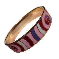 Bracelet Design et Trés Mode Emaillé Trés Coloré. Taille Medium Super Qualité ME13