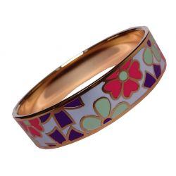 Bracelet Design et Trés Mode Emaillé Trés Coloré. Taille Medium. Super Qualité ME18