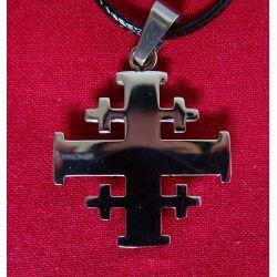 Croix de Jérusalem en 3 épaisseurs