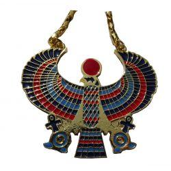 Pendentif Pectoral Egyptien Faucon ANKH Horus Medium