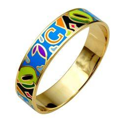 Bracelet Haute Qualité émail. Jolies Couleurs et Motifs Actuels. Trés Tendance ME01