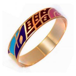 Bracelet Haute Qualité émail. Jolies Couleurs et Motifs Actuels. Trés Tendance ME03
