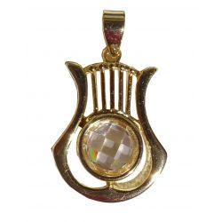 ✡ Pendentif Harpe Instrument traditionnelle des anciens Juifs