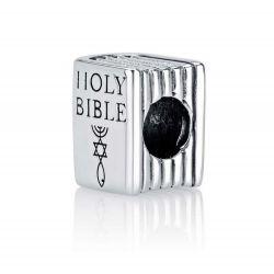 """Charm en Argent """"Holy Bible"""" (Sainte Bible)"""