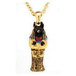 Joli Pendentif du plus connu du Panthéon des dieux Egyptiens : Anubis