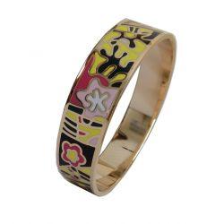 Bracelet Design Emaillé Trés Coloré. Taille Medium. Super Qualité ME45.